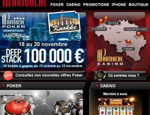Site de casino belge en ligne legal