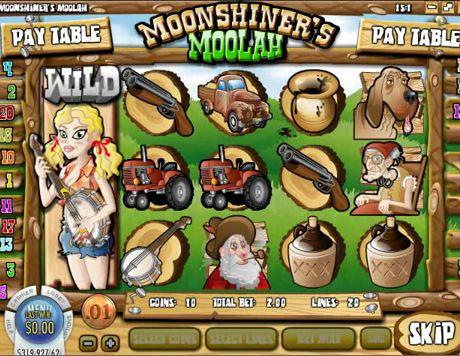 Machine a sous Moonshiner's rival