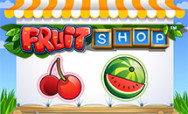 Machine a sous 5 rouleaux Fruit Shop