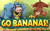 Machine a sous 5 rouleaux Go Bananas