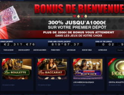 Bonus gratuit sur Paris VIP Casino