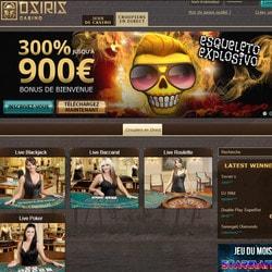 Osiris Casino Bonus Code