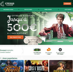 Cresus Casino sur Code Bonus Casino