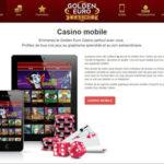 Golden Euro Casino presente ses nouveaux jeux sur Code Bonus Casino