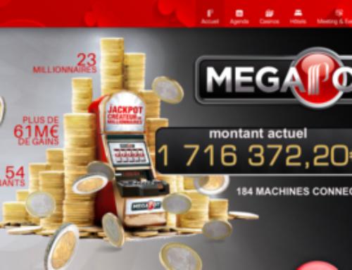 Jackpot progressif: Le Megapot n'en finit pas de monter