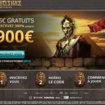 Bonus gratuit casino Osiris