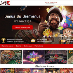 Lucky31 Casino sur Code Bonus Casino