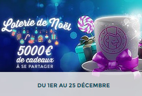 Bonus Monsieur Vegas: Loterie de Noel