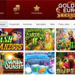 Golden Euro Casino dans le top 5 de Code Bonus Casino
