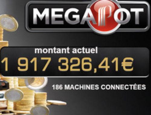 Partouche Megapot: Jackpot Progressif remporté au casino de la Tremblade