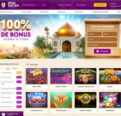 Wild Sultan Casino: Jouer en securite dans un casino fiable