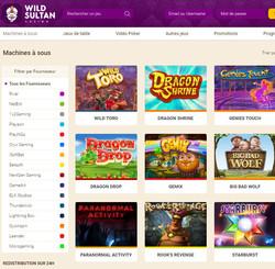 Wild Sultan Casino intègre Code Bonus Casino