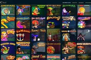 800 jeux sur Cheri Casino