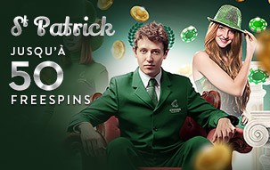 Bonus Cresus Casino pour la Saint Patrick