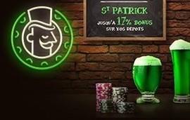 Bonus Monsieur Vegas Saint Patrick