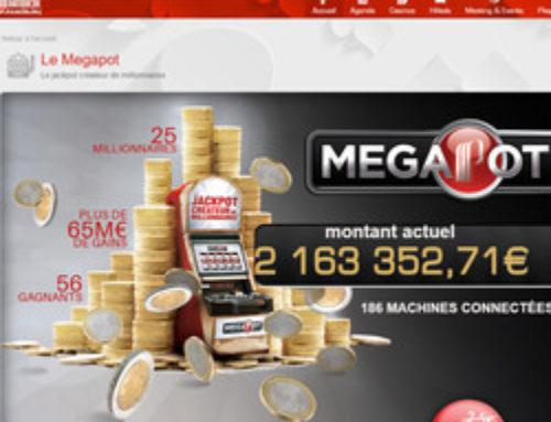Plus de 2 millions à gagner au Partouche Megapot