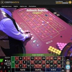 Nouvelles roulette en ligne Authentic Gaming intégrées sur Casino Extra