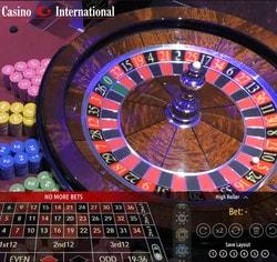 Authentic Roulette Turbo en direct d'un vrai casino terrestre