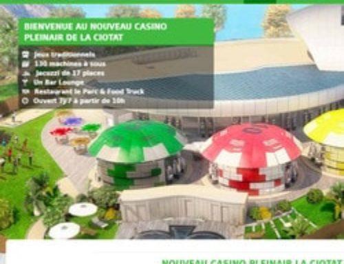 Le Groupe Partouche lance le Casino Pleinair de La Ciotat