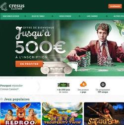 Bonus gratuit sans condition de Cresus Casino