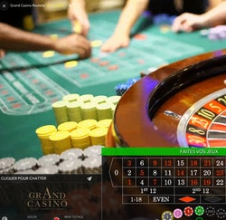 Roulette Live Lucky31 Casino