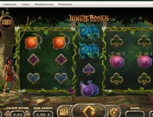 La machine à sous Jungle Books disponible sur Dublinbet