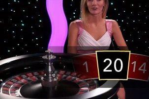 Roulette Immersive d'Evolution Gaming sur mBit Casino