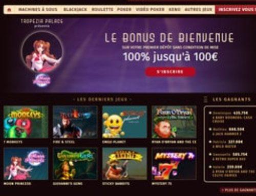 Tropezia Palace: plus de machines a sous et jeux mobile