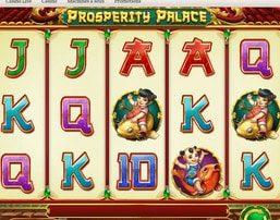 Machine à sous Prosperity Palace du logiciel Play'n Go sur Dublinbet