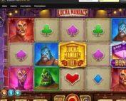 Machine à sous Lucha Maniacs du logiciel Yggdrasil sur Casino Extra