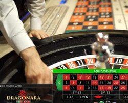Roulette en live en direct du Dragonara Casino avec croupiers en direct