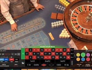 Roulettes en ligne Authentic Gaming en direct de 4 vrais casinos