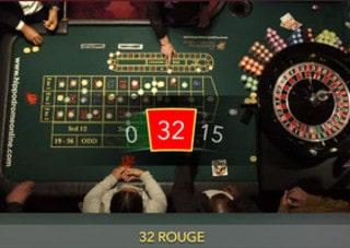 Live roulette en direct de l'Hippodrome Casino de Londres